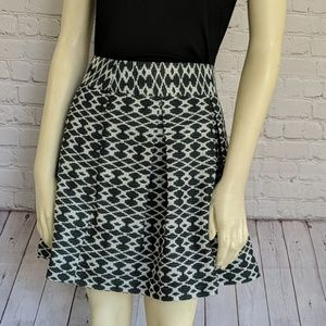 Banana Republic | Green White Pleated Skirt 14